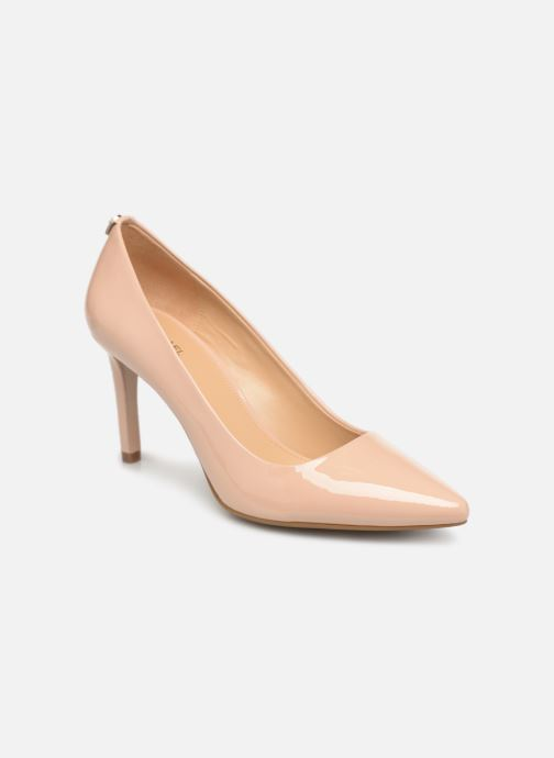 Zapatos de tacón Michael Michael Kors Dorothy Flex Pump Beige vista de detalle / par