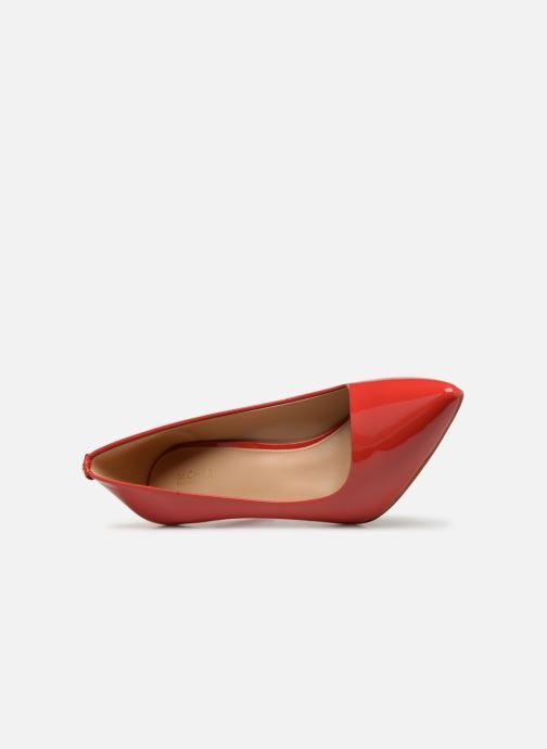 Zapatos de tacón Michael Michael Kors Dorothy Flex Pump Rojo vista lateral izquierda