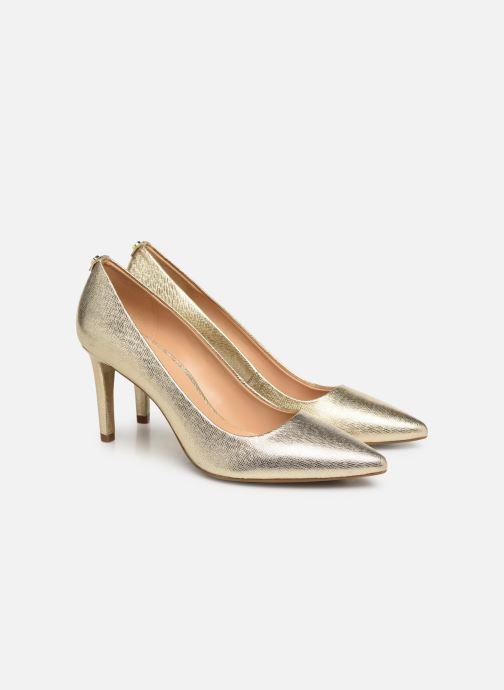 Zapatos de tacón Michael Michael Kors Dorothy Flex Pump Oro y bronce vista 3/4
