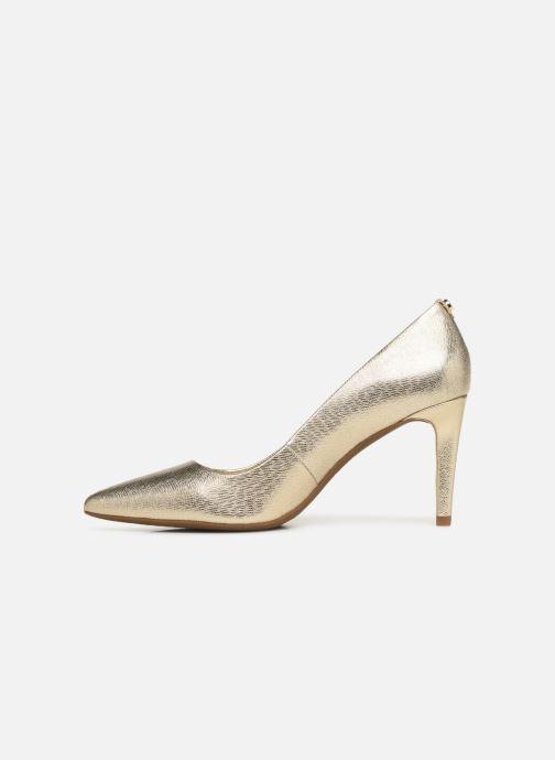Zapatos de tacón Michael Michael Kors Dorothy Flex Pump Oro y bronce vista de frente