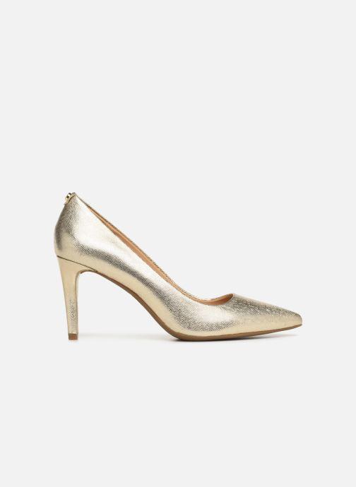 Zapatos de tacón Michael Michael Kors Dorothy Flex Pump Oro y bronce vistra trasera