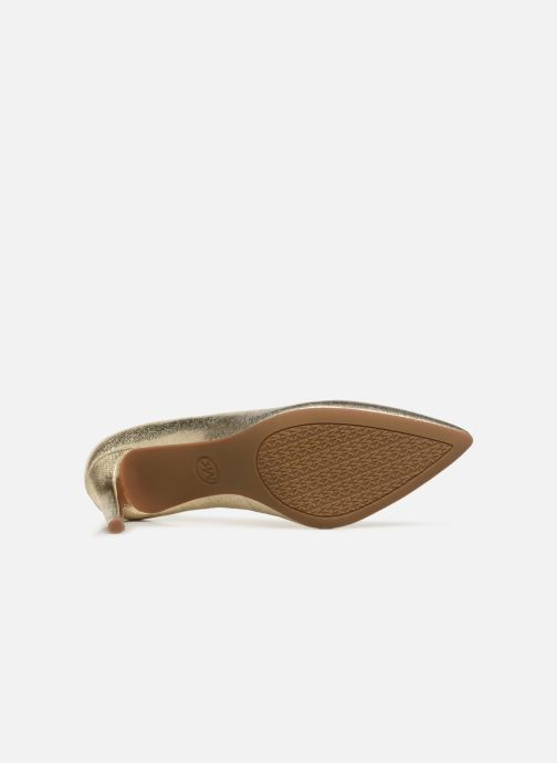 Zapatos de tacón Michael Michael Kors Dorothy Flex Pump Oro y bronce vista de arriba