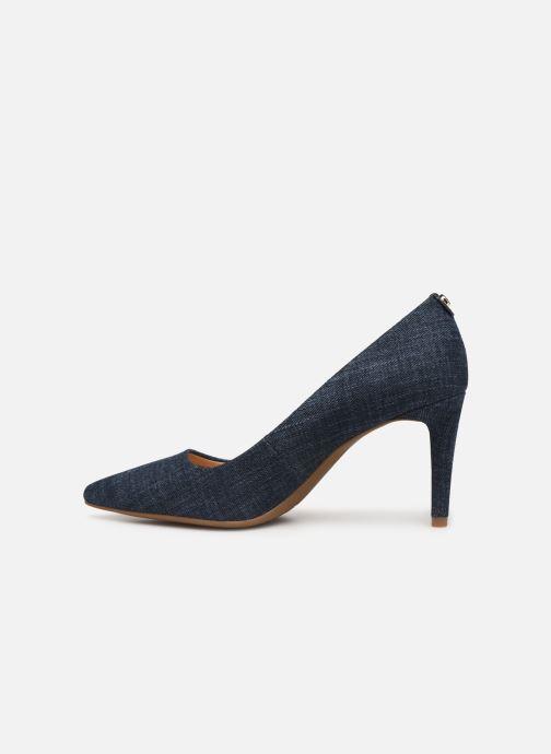 Zapatos de tacón Michael Michael Kors Dorothy Flex Pump Azul vista de frente