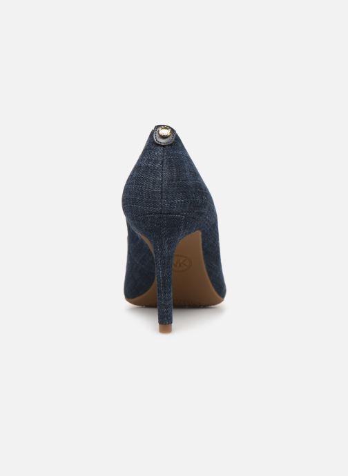 Zapatos de tacón Michael Michael Kors Dorothy Flex Pump Azul vista lateral derecha