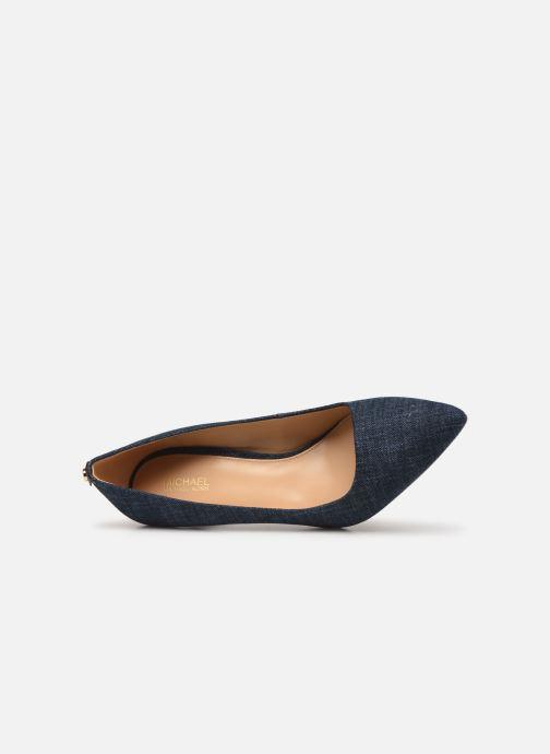 Zapatos de tacón Michael Michael Kors Dorothy Flex Pump Azul vista lateral izquierda