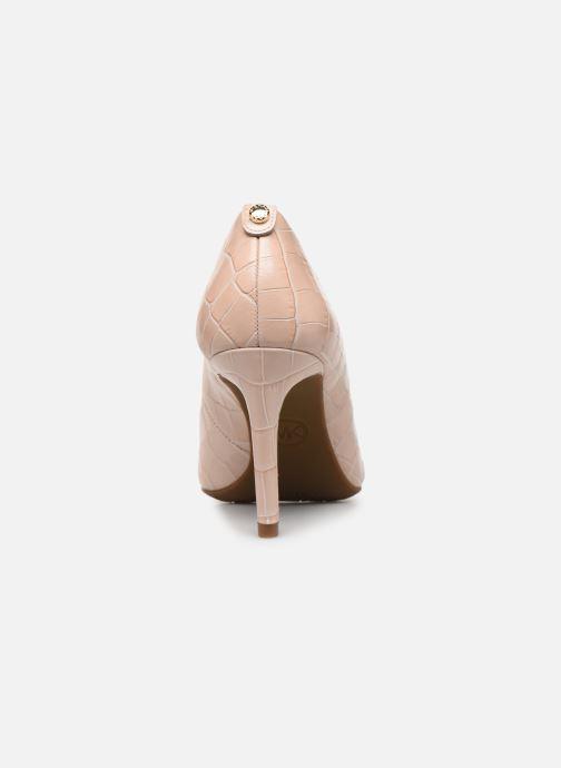 Zapatos de tacón Michael Michael Kors Dorothy Flex Pump Rosa vista lateral derecha
