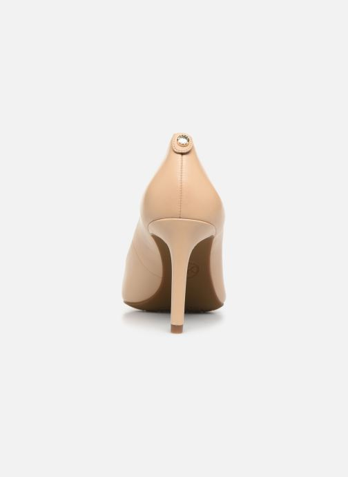 Zapatos de tacón Michael Michael Kors Dorothy Flex Pump Beige vista lateral derecha