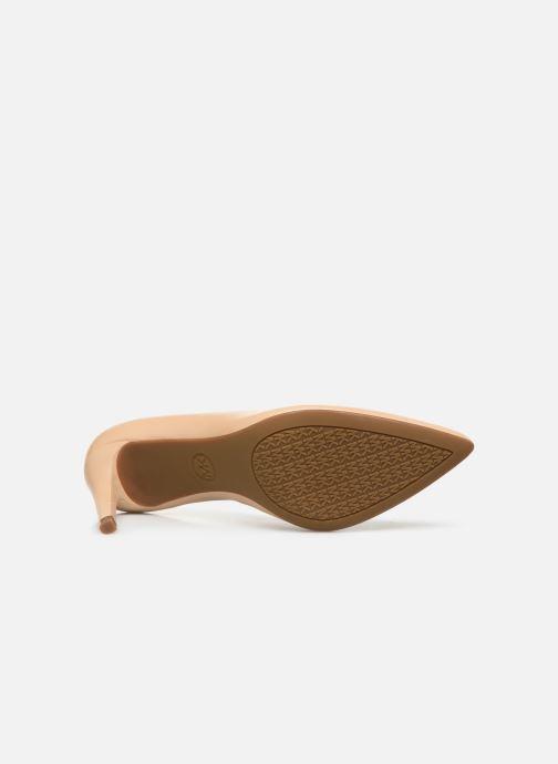 Zapatos de tacón Michael Michael Kors Dorothy Flex Pump Beige vista de arriba