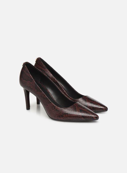 Zapatos de tacón Michael Michael Kors Dorothy Flex Pump Vino vista 3/4