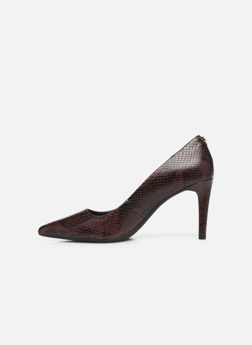 Zapatos de tacón Michael Michael Kors Dorothy Flex Pump Vino vista de frente