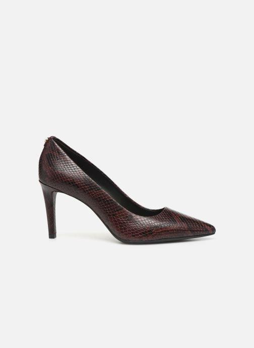 Zapatos de tacón Michael Michael Kors Dorothy Flex Pump Vino vistra trasera