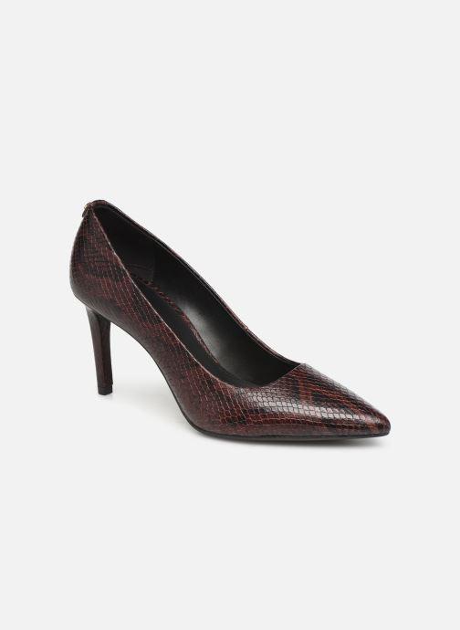 Zapatos de tacón Michael Michael Kors Dorothy Flex Pump Vino vista de detalle / par