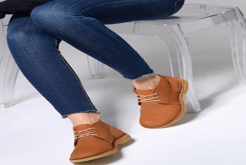 Bottines et boots Kickers TADSIO Marron vue bas / vue portée sac