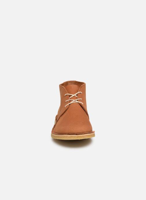 Bottines et boots Kickers TADSIO Marron vue portées chaussures