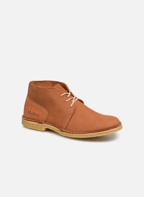 Bottines et boots Kickers TADSIO Marron vue détail/paire