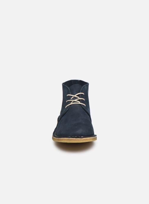 Bottines et boots Kickers TADSIO Bleu vue portées chaussures