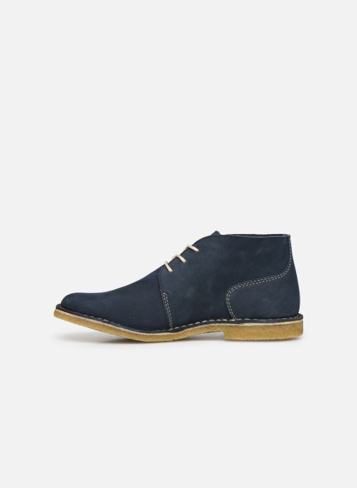Bottines et boots Kickers TADSIO Bleu vue face
