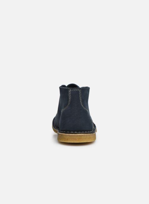 Bottines et boots Kickers TADSIO Bleu vue droite