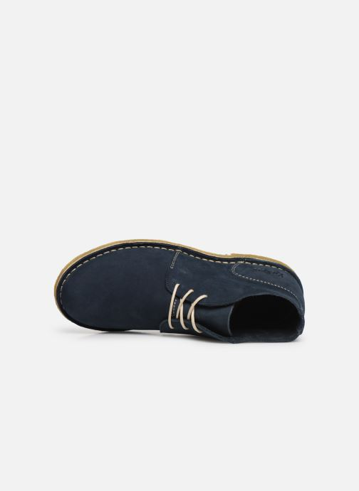 Bottines et boots Kickers TADSIO Bleu vue gauche