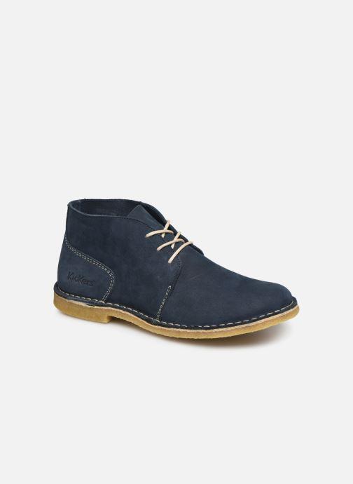 Bottines et boots Kickers TADSIO Bleu vue détail/paire