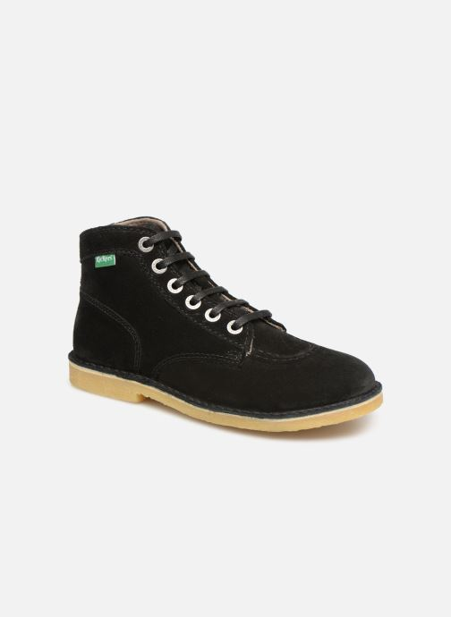 Bottines et boots Kickers ORILEGEND F Noir vue détail/paire