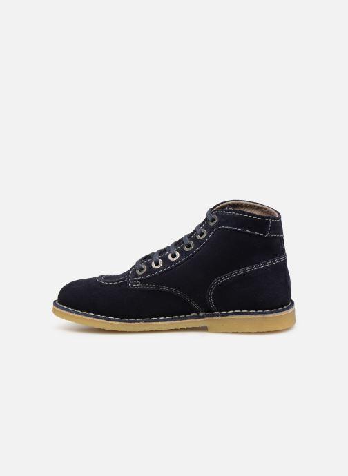 Boots en enkellaarsjes Kickers ORILEGEND F Blauw voorkant