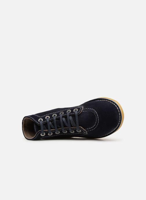Boots en enkellaarsjes Kickers ORILEGEND F Blauw links