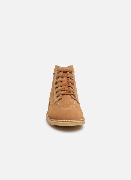 Stiefeletten & Boots Kickers ORILEGEND F braun schuhe getragen