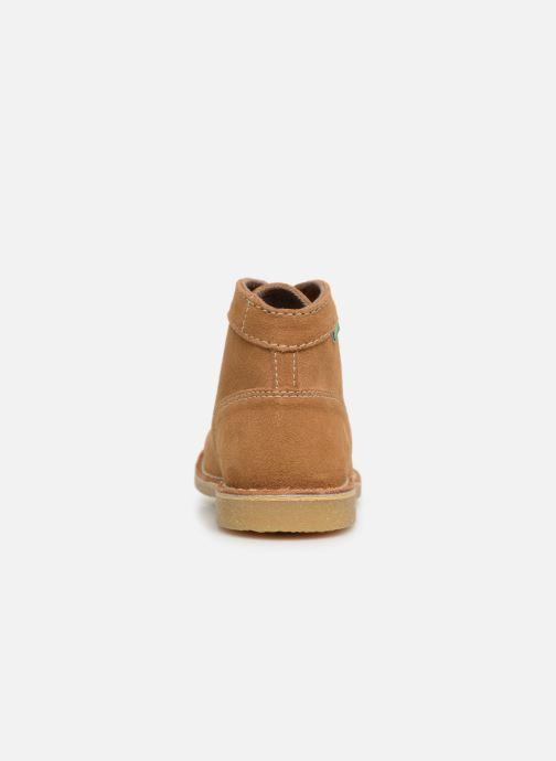 Bottines et boots Kickers ORILEGEND F Marron vue droite