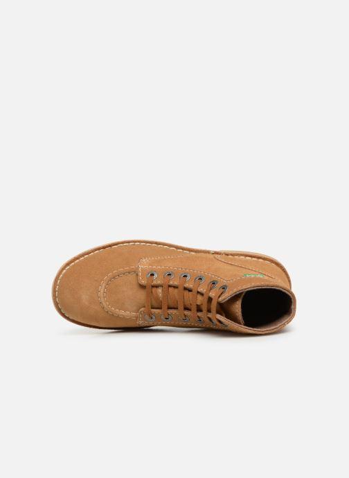 Bottines et boots Kickers ORILEGEND F Marron vue gauche