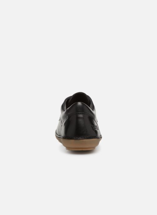 Zapatos con cordones Kickers FOWFOPERF Negro vista lateral derecha