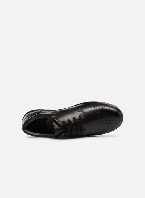 Zapatos con cordones Kickers FOWFOPERF Negro vista lateral izquierda