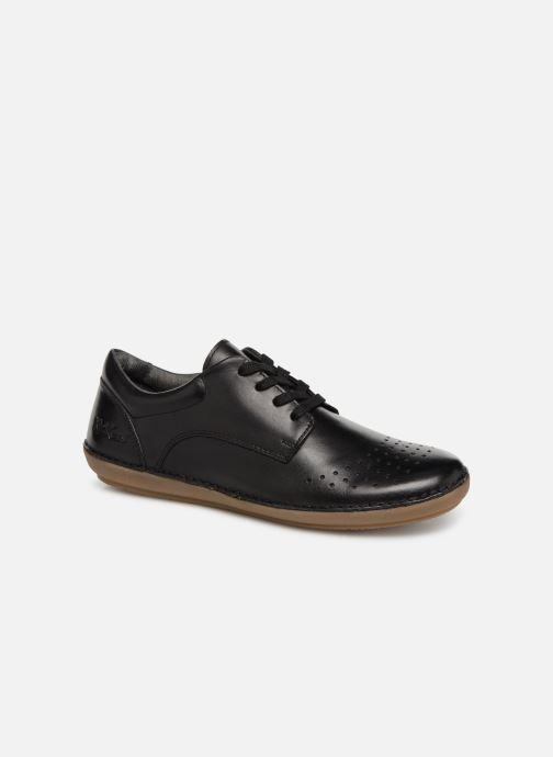 Zapatos con cordones Kickers FOWFOPERF Negro vista de detalle / par