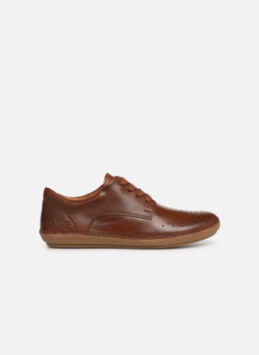 Chaussures à lacets Kickers FOWFOPERF Marron vue derrière