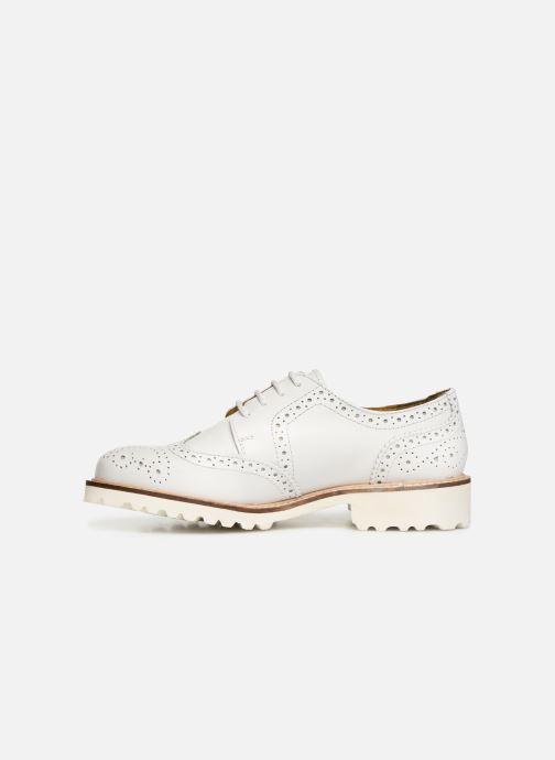 Zapatos con cordones Kickers ROVENTRY Blanco vista de frente