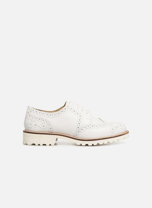 Zapatos con cordones Kickers ROVENTRY Blanco vistra trasera