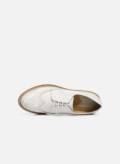 Zapatos con cordones Kickers ROVENTRY Blanco vista lateral izquierda