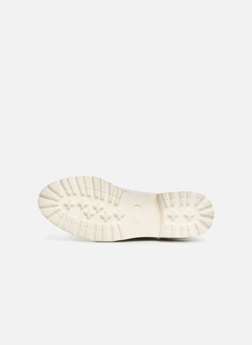 Chaussure Femme Grande Remise Kickers ROVENTRY Blanc Chaussures à lacets 357174