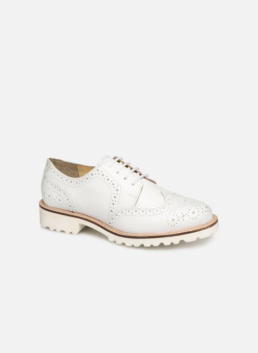 Chaussures à lacets Kickers ROVENTRY Blanc vue détail/paire