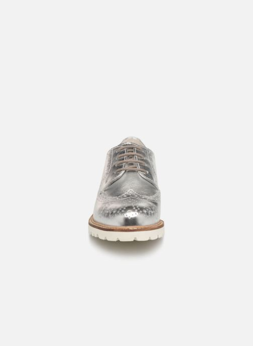 Chaussures à lacets Kickers ROVENTRY Argent vue portées chaussures