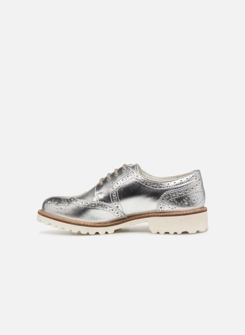 Chaussures à lacets Kickers ROVENTRY Argent vue face