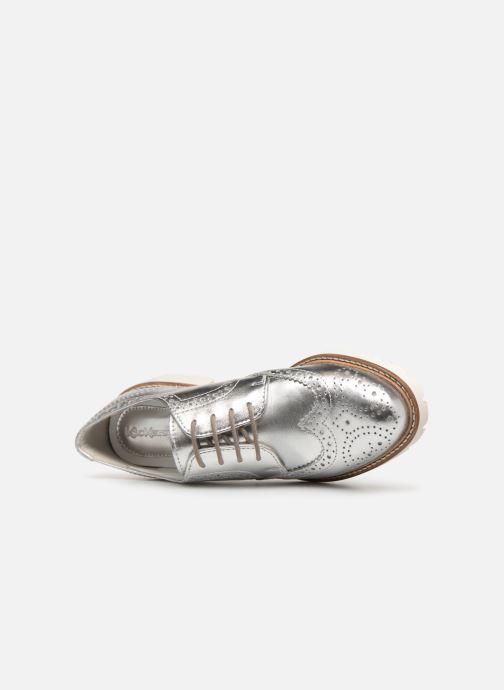 Scarpe con lacci Kickers ROVENTRY Argento immagine sinistra