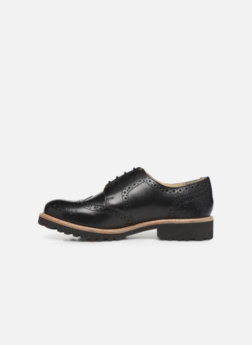 Chaussures à lacets Kickers ROVENTRY Noir vue face