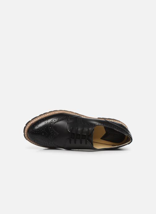 Chaussures à lacets Kickers ROVENTRY Noir vue gauche