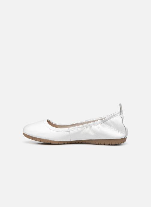 Ballerina's Kickers RABAT Wit voorkant