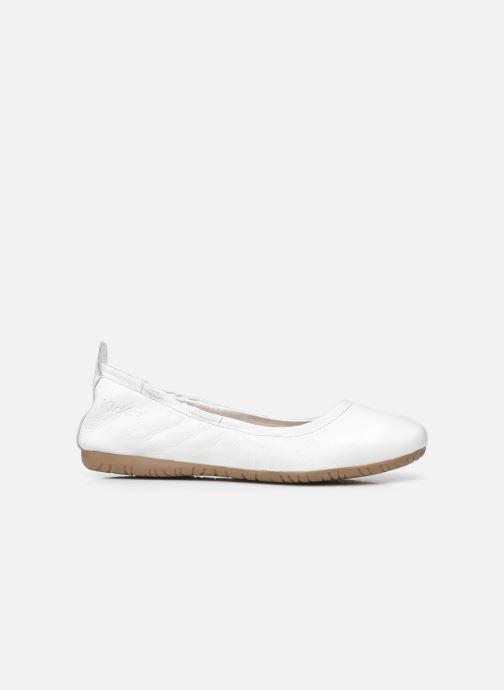 Ballerina's Kickers RABAT Wit achterkant