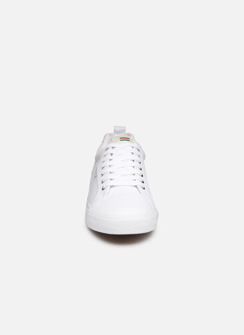 Baskets Kickers ARMILLE Blanc vue portées chaussures