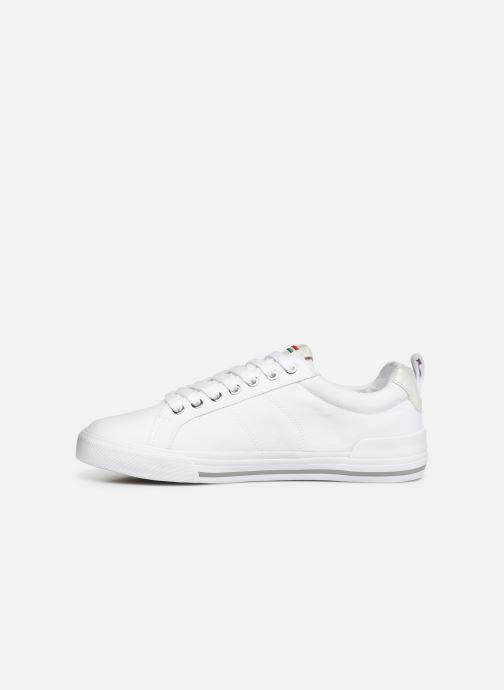 Sneaker Kickers ARMILLE weiß ansicht von vorne