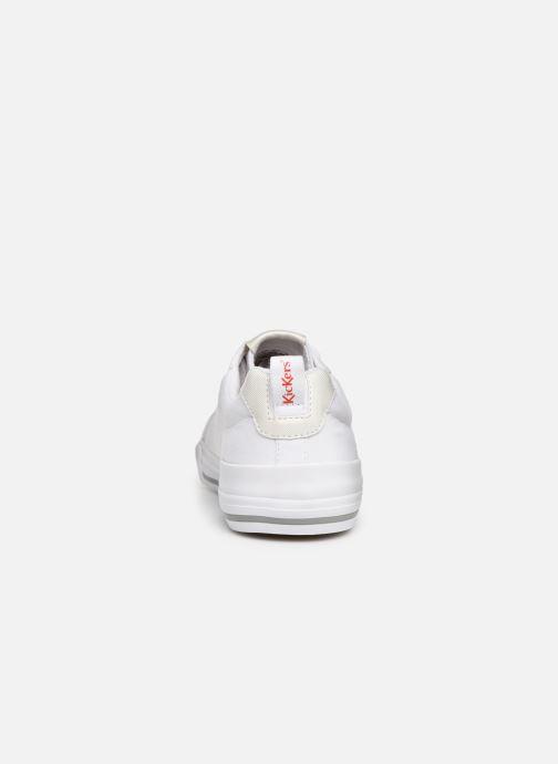 Baskets Kickers ARMILLE Blanc vue droite