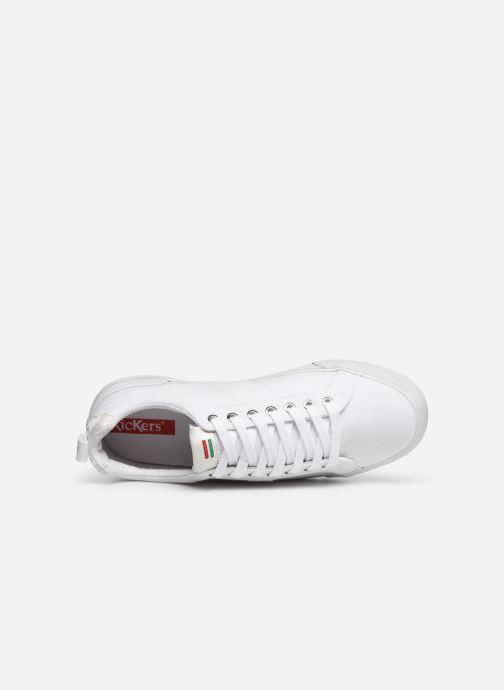 Sneaker Kickers ARMILLE weiß ansicht von links